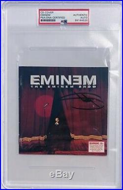 PSA/DNA Real Slim Shady EMINEM Autographed Signed THE EMINEM SHOW CD Album