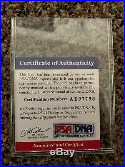 Patrick Mahomes Framed Nike Elite Autographed Signed Jersey PSA/DNA