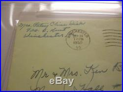 Patsy Cline Signed Envelope Psa/dna Authentic Auto I Fall To Pieces Decca Crazy
