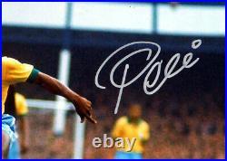 Pele Certified Authentic Autographed Signed 16x20 Photo Cbd Brazil Psa/dna 68879