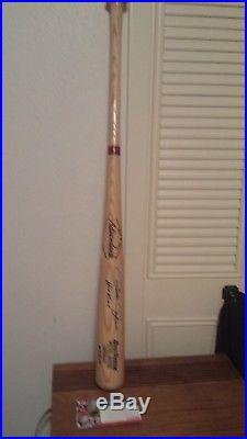 Pete Rose Signed Autographed on RARE#47 Professional Model Baseball Bat PSA/DNA