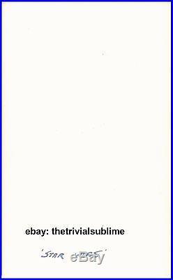 Peter Cushing UNINSCRIBED Autograph (PSA / DNA) Star Wars Moff Tarkin Signed