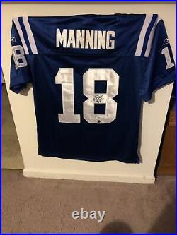 Peyton Manning Autographed Reebok Game Jersey PSA/DNA COA