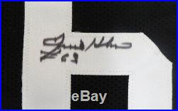 Pittsburgh Steelers Ernie Holmes Autographed Signed Black Jersey Psa/dna 143299