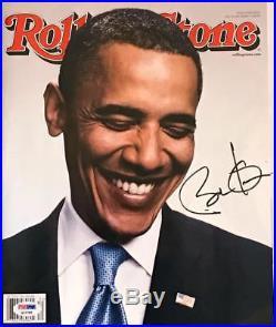 President Barack Obama Signed Autographed 2008 ROLLING STONE Magazine PSA/DNA