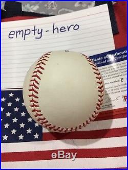 President Donald J Trump Signed Autograph Baseball PSA DNA Authentic MAGA