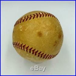President Dwight D. Eisenhower Single Signed American League Baseball PSA DNA