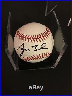 President George W Bush signed baseball PSA/DNA guarantee