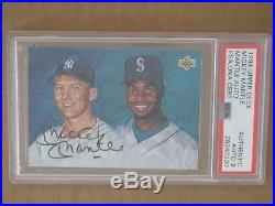 Psa Dna 1994 Uda Mickey Mantle Autograph 9 Yankees Signed Auto Hof Griffey