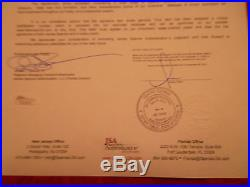 Psa/dna Reggie White Carolina Panthers Autographed-signed Vintage Pants