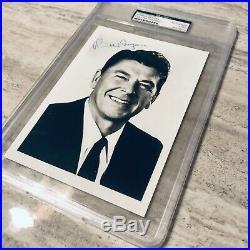 RONALD REAGAN Signed Autographed Photograph PSA DNA Authentic