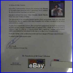 Randy Rhoads Autographed Blizzard of Ozz Tour Program PSA/DNA JSA OFFERS