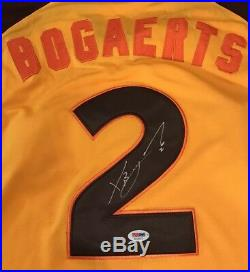 Red Sox Xander Bogaerts Autographed 2016 All Star Game Jersey Signed PSA/DNA