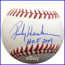 Rickey Henderson Autographed Signed Mlb Baseball A's Hof 2009 Psa/dna 28157