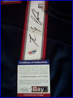 Rob Gronkowski Autographed Signed Nike NFL Game Jersey PSA DNA COA Divorce Sale