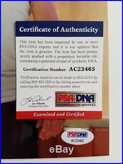 Robert Downey Jr. Signed 8x10 photo PSA/DNA Autographed