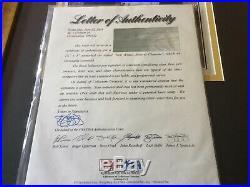 Roberto Clemente Framed Autograph Psa/Dna
