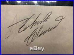 Roberto Clemente Signature PSA/DNA Autograph! Cut auto plastic slabbed