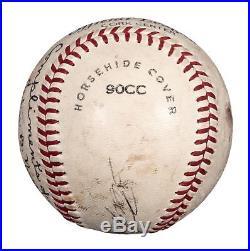Roberto Clemente Single Signed Autographed Baseball PSA DNA COA