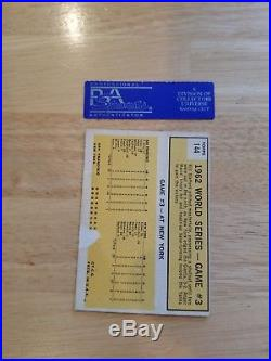 Roger Maris autographed signed card #144 1963 Topps PSA DNA PSA/DNA auto sig