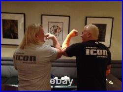 Rowdy Roddy Piper & Greg Valentine Signed NWA Starrcade 16x20 Photo PSA/DNA COA