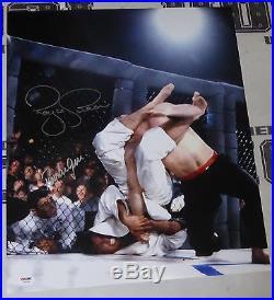 Royler & Royce Gracie Signed UFC 2 16x20 Photo PSA/DNA COA Picture Autograph 1 4