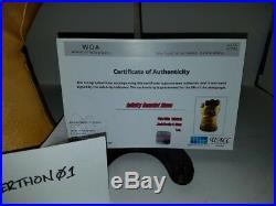SDCC Stan Lee & Josh Brolin autographed Infinity War Guantlet PSA DNA Certified