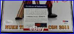 STAN LEE + MIKE TYSON Autograph Signed 8x10 Photo with PSA/DNA COA + JSA Dual Auto