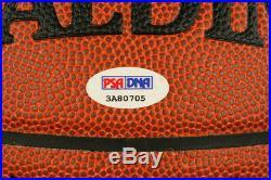 Scottie Pippen SIGNED I/O Basketball +HOF Chicago Bulls ITP PSA/DNA AUTOGRAPHED