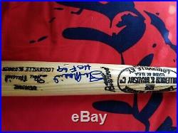 Stan musial autographed bat PSA/DNA certified Beckett