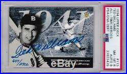 TED WILLIAMS 1994 Upper Deck Auto Autograph /2500 PSA/DNA Certified