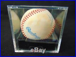 TED WILLIAMS Boston Red Sox HOF Autographed ROAL Baseball GRADED PSA/DNA 7.5