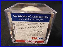 TONY GWYNN HOF 07 San Diego Padres HOF Autographed ROML Baseball PSA/DNA COA