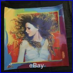 Taylor Swift Autographed 2011 Peter Max Fearless Poster Psa Dna Ad11730