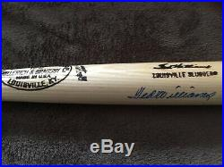 Ted Williams autographed, signed, PSA/DNA, H&B Louisville Slugger, Red Sox