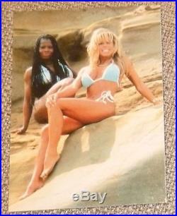 Terri Runnels 2x Signed WWE Event Worn Used Bikini PSA/DNA COA Ring Autograph