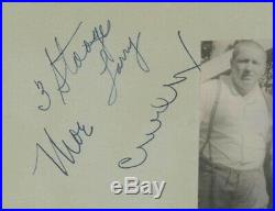The 3 Three Stooges Autographed PSA/DNA Authenticated Certified & Graded 9 Mint