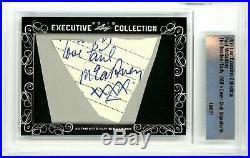 The Beatles / Paul Mccartney / 2018 Leaf Executive Autograph / Psa/dna/jsa/bas