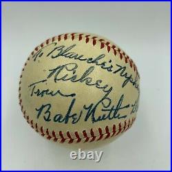 The Finest Babe Ruth Single Signed Baseball PSA DNA Graded GEM MINT 10