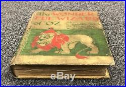 The Wonderful Wizard of Oz 1st Edition Book Signed by L. Frank Baum PSA/DNA