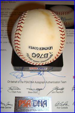 Thurman Munson single signed auto PSA/DNA ball Yankees autographed baseball SSB