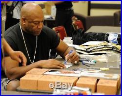 Tiny Lister Signed DeBo Friday Movie Brick PSA/DNA COA Autograph Tommy Ice Cube