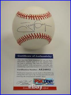 Tony Gwynn Psa/dna Signed Official Nl Baseball Autographed Certified Ae24952