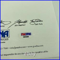 Ty Cobb Single Signed Autographed 1920's American League Baseball PSA DNA COA