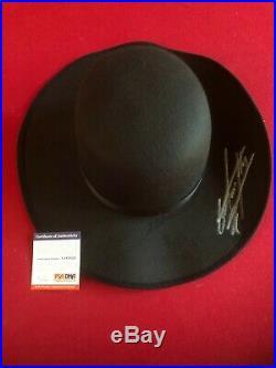 UNDERTAKER, Autographed (PSA / DNA ITP) WWE Round Hat (Scarce / Vintage)