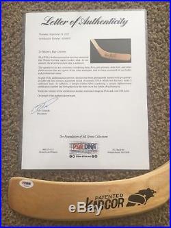 WAYNE GRETZKY Titan TPM 2020 Signed Autographed Hockey Stick PSA/DNA COA
