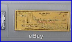 Walt Disney 11x14 Photo Signed Check Autograph Auto PSA/DNA Mickey Mouse Goofy