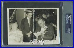 Walt Disney Authentic Signed 5x7 Photo Autographed PSA/DNA Slabbed