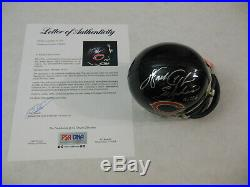 Walter Payton Autographed Signed Chicago Bears Mini Helmet PSA DNA COA