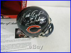 Walter Payton Autographed Signed Chicago Bears Mini Helmet PSA DNA LOA